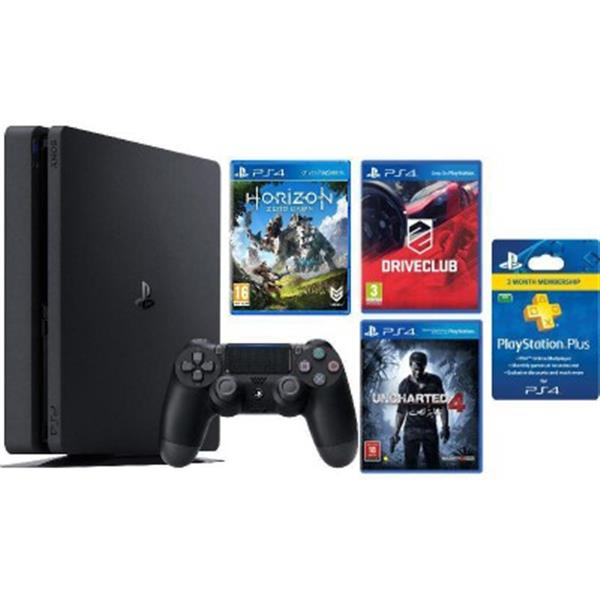 Ps4 500 Gb + 3Cd+ Card