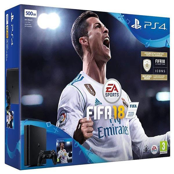 PlayStation 4 500 GB Slim + FIFA 2018