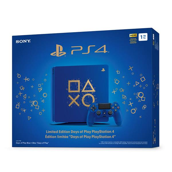 PlayStation 4 1TB- BLUE EDITION