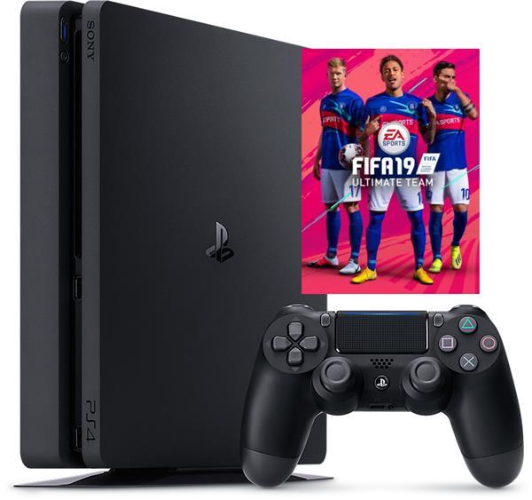 PlayStation 4 - 500GB fifa19 bundle