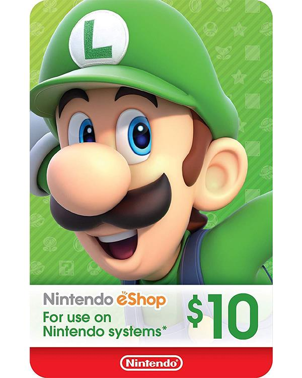 Nintendo eShop Gift Card $10 ( Digital codes )