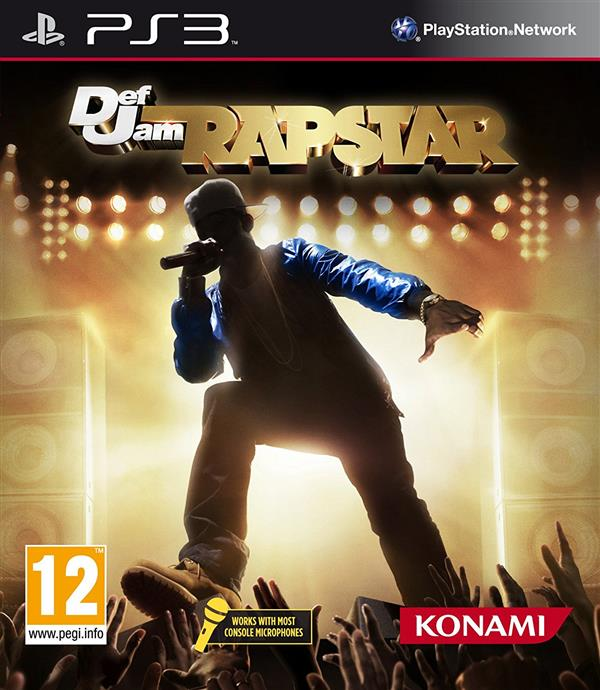 DEF JAM RAP STAR  PS3