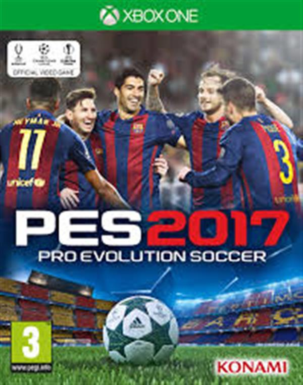 Pro Evolution Soccer 2017 EN  XBOX  ONE