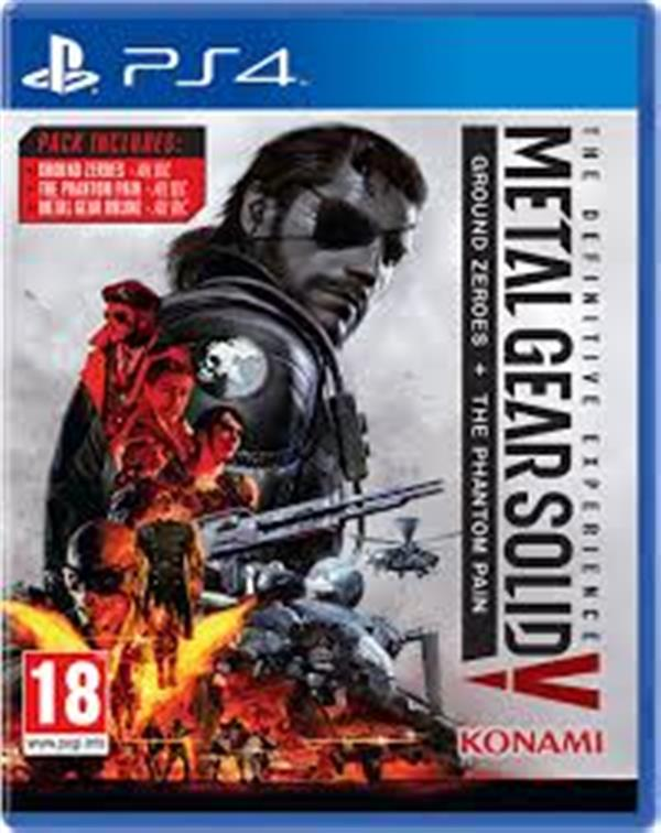 Metal Gear:The Definitive Expe  PS4