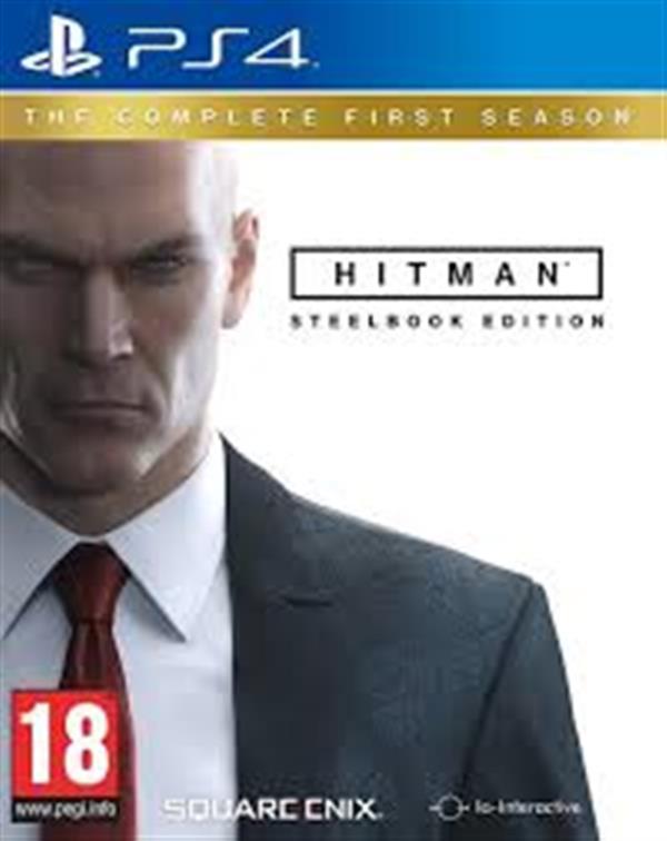 Hitman : SteelBook  PS4