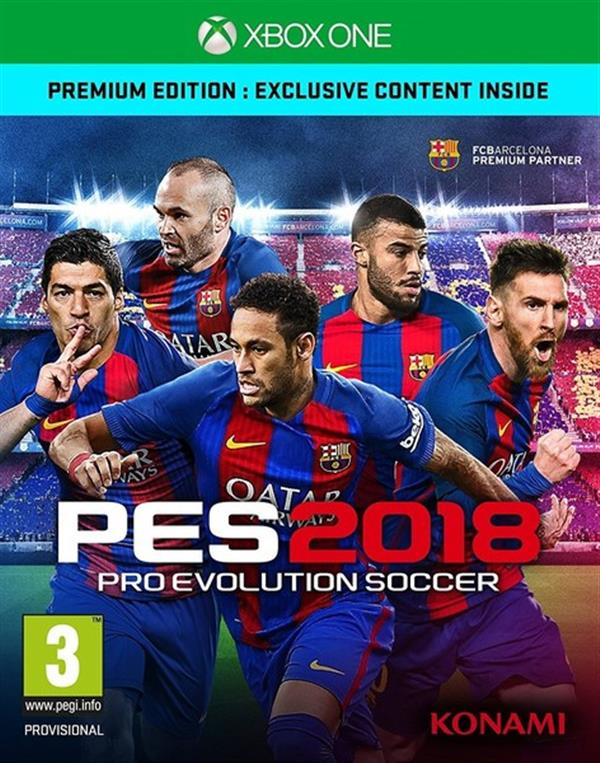 Pro Evolution Soccer 2018 EN  XBOX  ONE