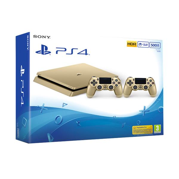 PlayStation 4 -500 GB Gold