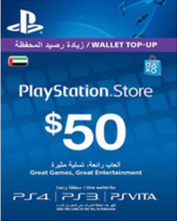 PS-NETWORK CARD 50 $