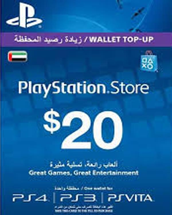 PS-NETWORK CARD 20$