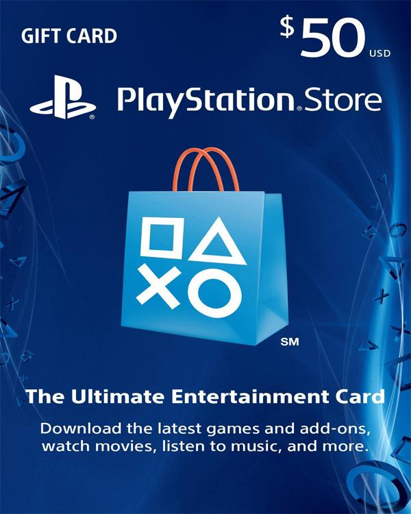PS-NETWORK CARD 50 $ US