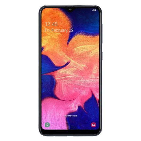 Samsung موبايل جالاكسي A10 ثنائي الشريحة - 6.2 بوصة - 32 جيجا - 4G - أسود