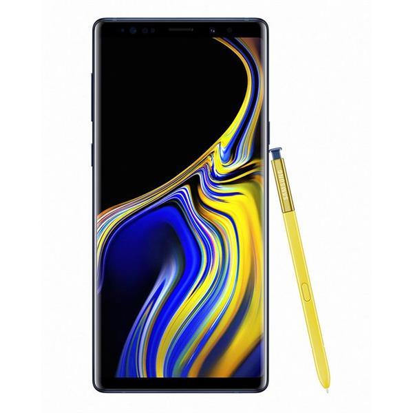 Samsung Galaxy Note9 - موبايل ثنائي الشريحة 6.4 بوصة - أزرق - 128 جيجا بايت