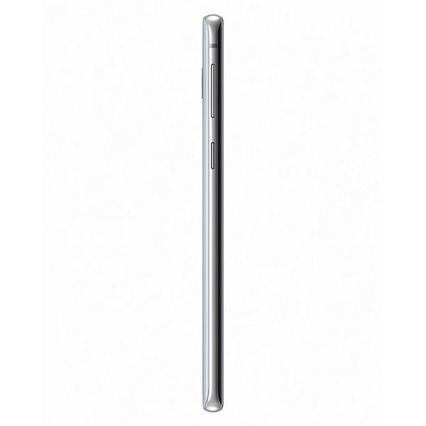 Samsung Galaxy S10 موبايل - 6.1 بوصة - 128 جيجا بايت - أبيض
